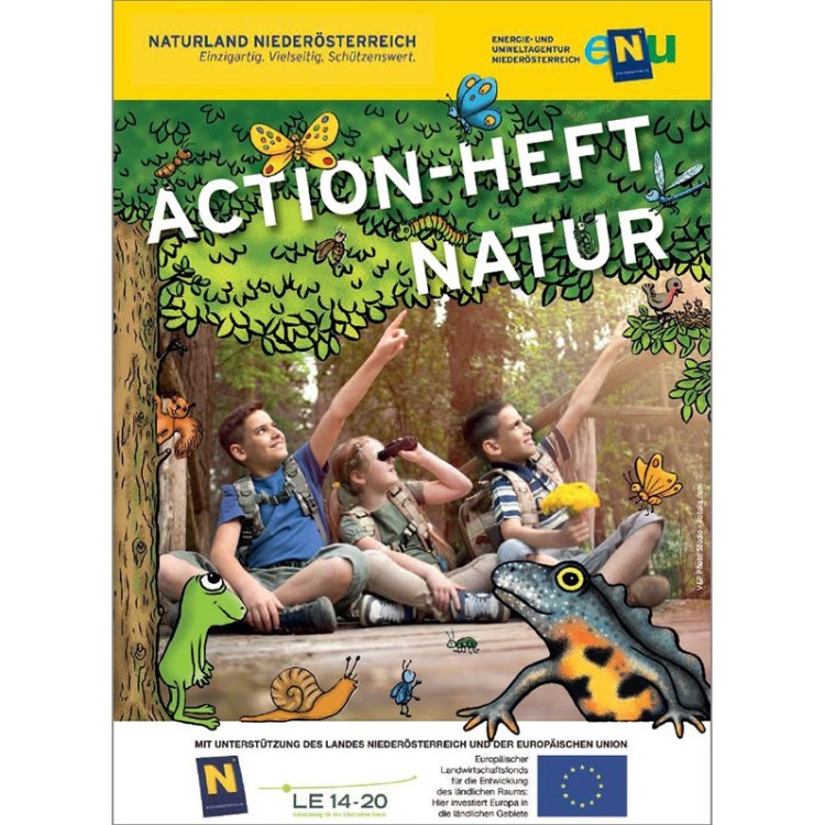 Cover Action-Heft Natur